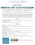 Digitial Art & Blockchain Spring Symposium