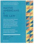 Native Americans & The Law