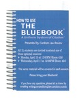 How To Use the Bluebook