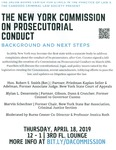 The New York Commission on Prosecutorial Conduct