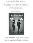 Cookies & Code Names by Benjamin N. Cardozo School of Law