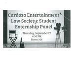 Student Externship Panel