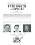 Free Speech and Sports