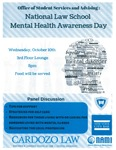 National Law School Mental Health Awareness Day