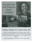 Fireside Chat with Professor Betsy Ginsberg