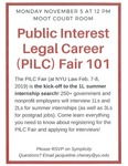 Public Interst Legal Career (PILC) Fair