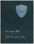 1988 ResNova by Benjamin N. Cardozo School of Law